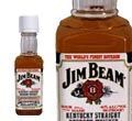 Jim Beam whiskey 0.05 l/5 cl mini palack