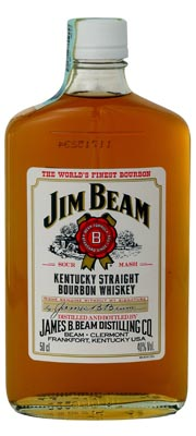 Jim Beam whiskey 40% 0.5 l