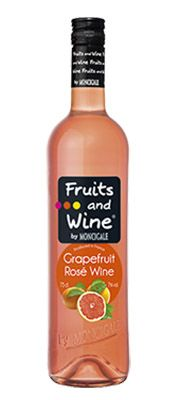 Fruits and Wine - Grapefruit Rosé Wine gyömölcsbor