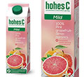 Hohes C Mild Juice Pink Grapefruit 100% 1 l