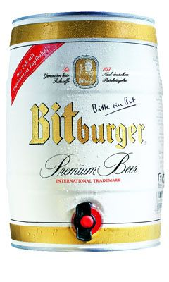 Bitburger Party Hordó 5 l