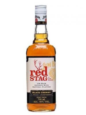 Jim Beam Bourbon Red Stag whisky 0.7 l