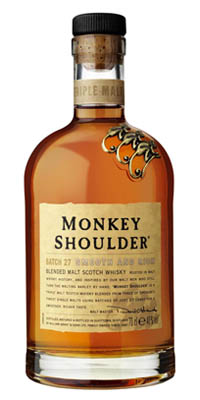 Monkey Shoulder Scotch Whisky 40% 0.7 l
