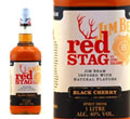 Jim Beam Bourbon Red Stag whisky 1 l