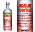 Absolut Ruby Red Vodka 1 l