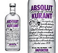 Absolut Kurant Vodka 1 l
